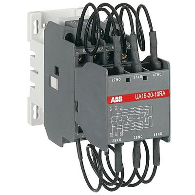 Contactor construction operation application and for Abb motor starter selection tool