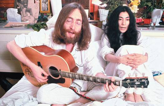 JOHN & YOKO'S SECOND BED-IN