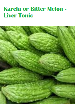 Health Benefits Of Karela or Bitter Melon - Liver Tonic