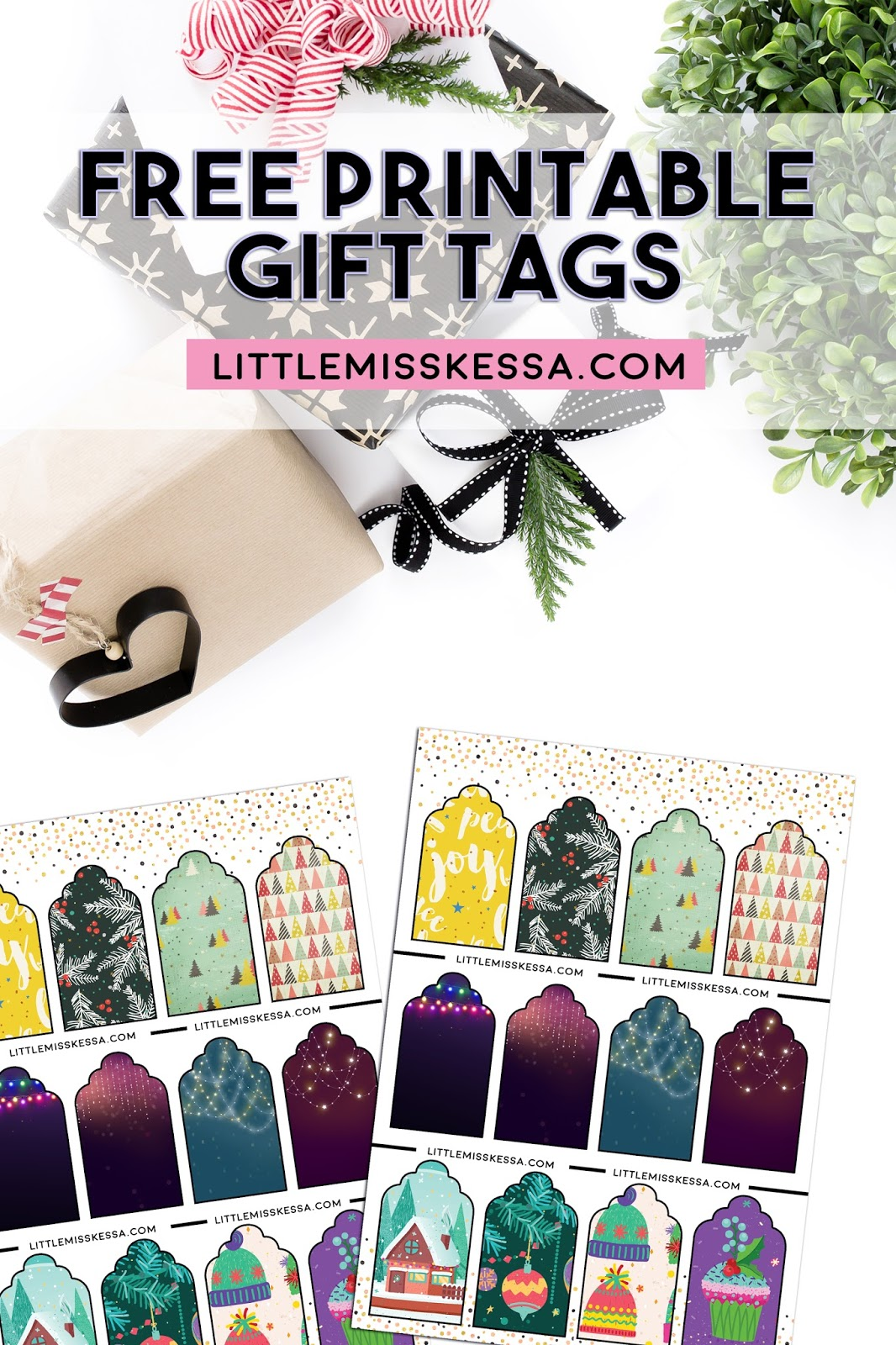 FREEBIE: PRINTABLE HOLIDAY GIFT TAGS - A Day In The Life Of