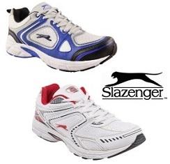 Amazing Deal: Slazenger Men's Shoes – Flat 80% Off for Rs.599 & 699 + 20% Cashback @ Flipkart