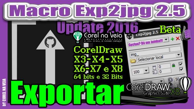 Exporta JPG no CorelDraw com Poucos Cliques