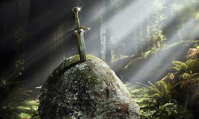 leyenda de excalibur espada