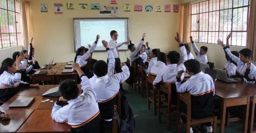 Más de 25 mil niños y adolescentes venezolanos estudian en colegios del Perú, informó el MINEDU