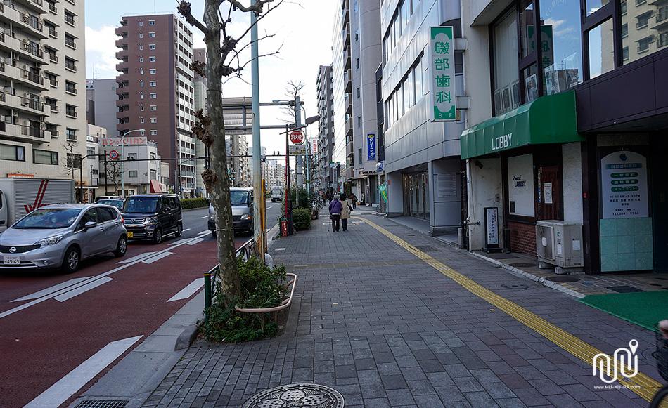 วิธีเดินทางไปยัง โรงแรม Agora Place Asakusa