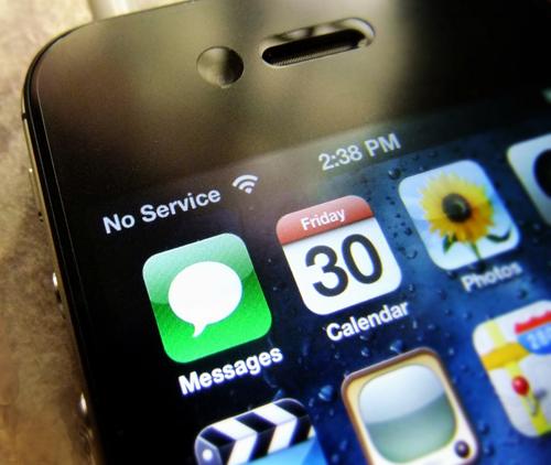 iphone sinyal hubungan