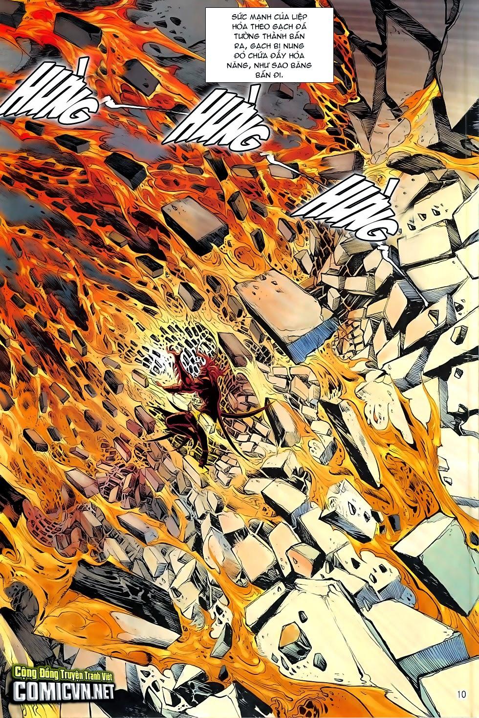 Chiến Phổ chapter 5: lôi hỏa kinh thiên chiến trang 10