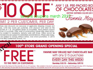 Fannie May coupons march