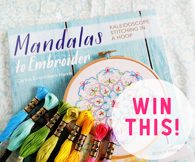 Giveaway :: Mandalas to Embroider!