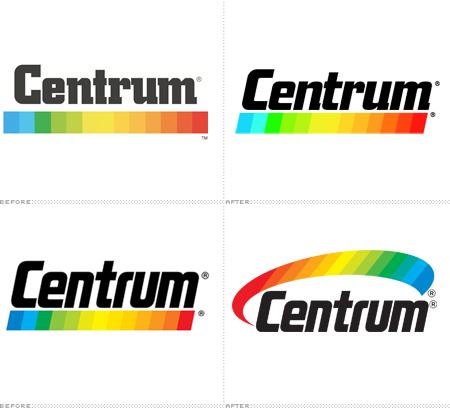 O espectro colorido ganhou visual arredondado e passou a ser posicionado em  cima da palavra CENTRUM. Por enquanto a mudança está restrita somente ao  mercado ... 02f04f6863