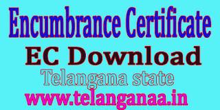 Encumbrance Certificate TS ( EC Online ) Download Telangana State