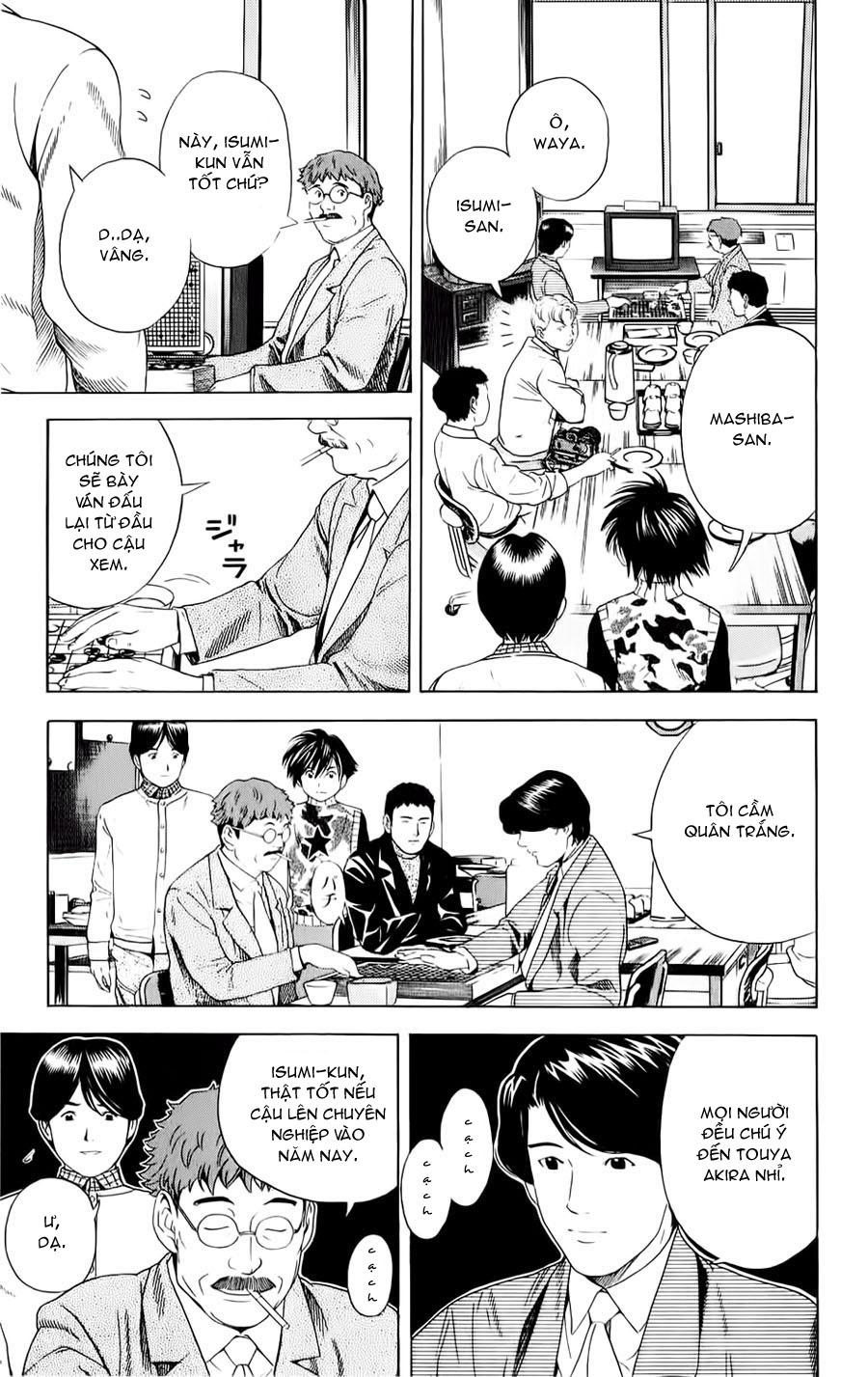 Hikaru No Go hikaru no go chap 48 trang 13