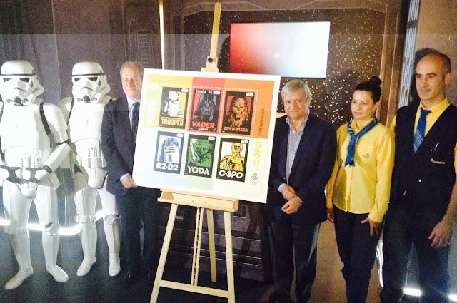 CORREOS lanza un sello dedicado a la saga de ´Star Wars´.