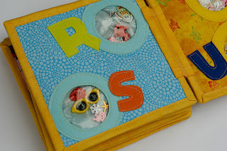 I spy ABC quiet book, busy book by TomToy