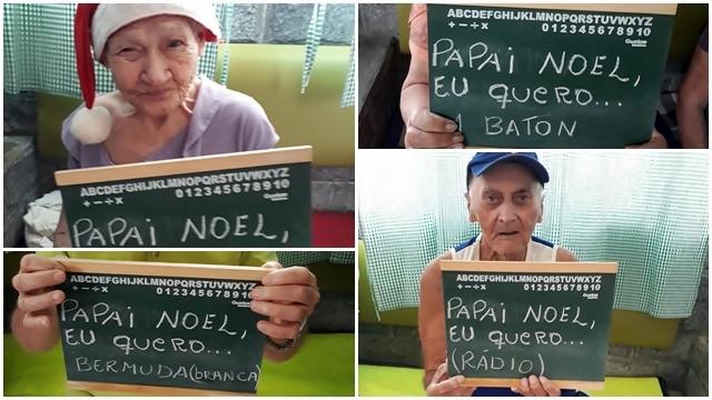 """Campanha de Natal do Asilo de Cantagalo permite que você """"adote"""" um idoso"""