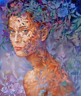 retratos-de-chicas-armonía-de-colores cuadros-oleo-retratos-mujeres