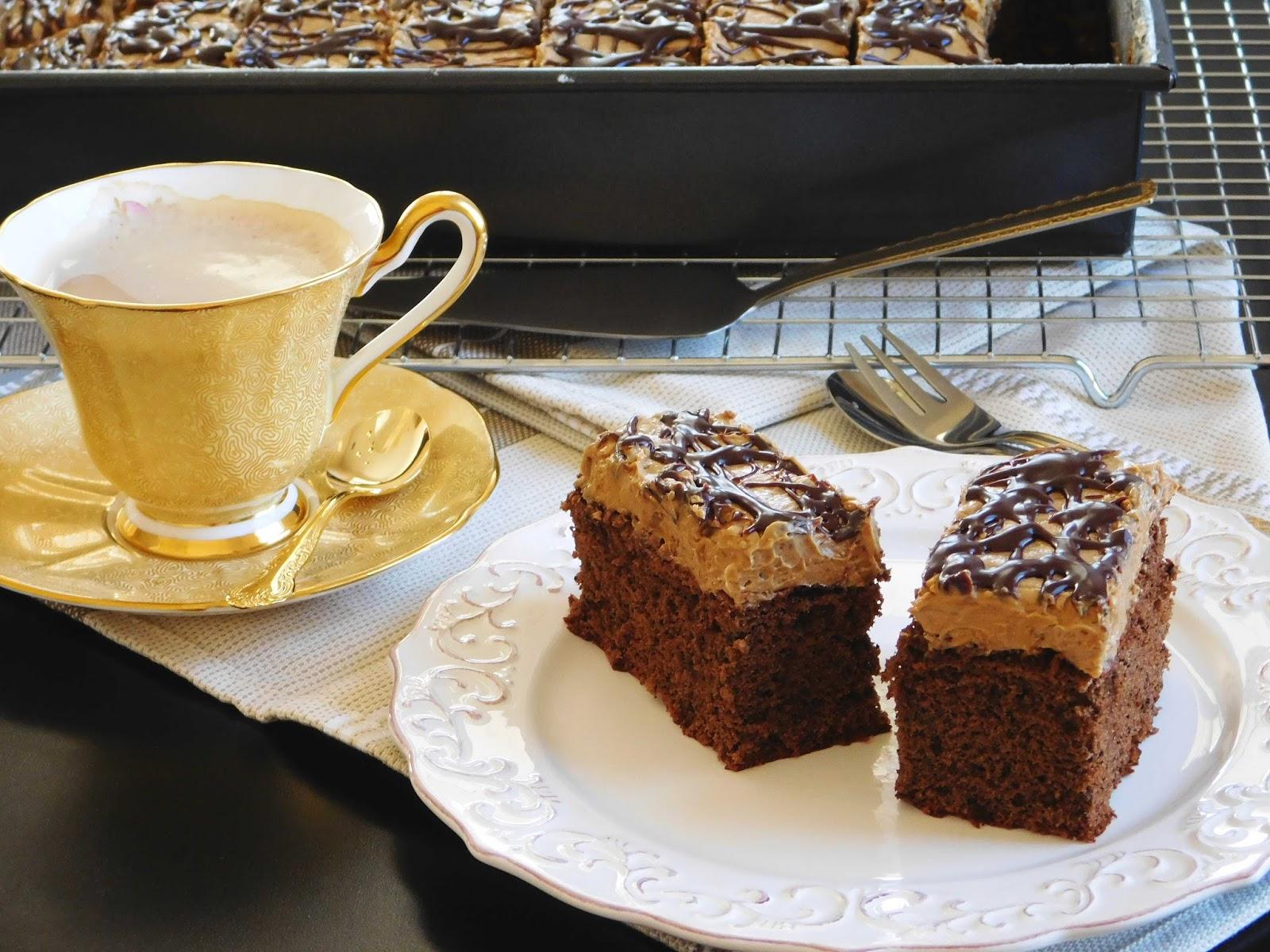 Add Coffee Powder To A Cake