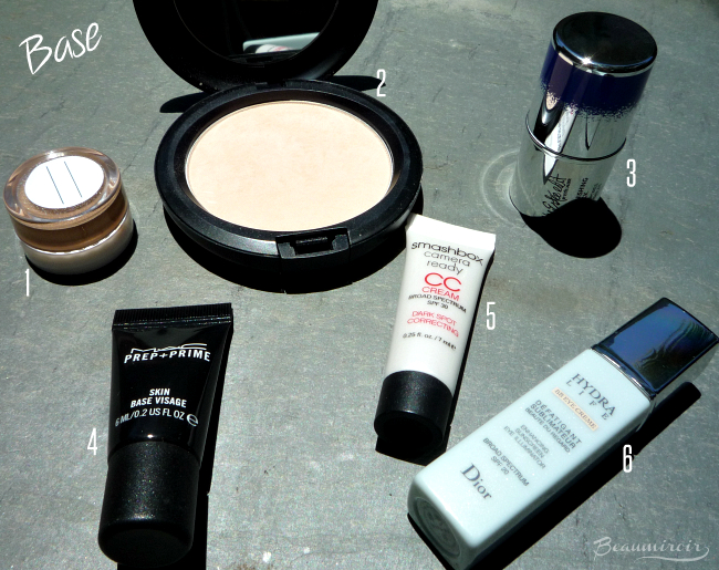What's in my travel makeup bag? Base