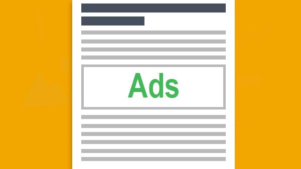 Trik Memasang iklan di atas dan bawah artikel Blog