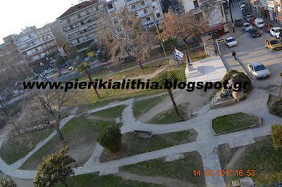 Απόψεις Δημότη για την κεντρική πλατεία του Ευκαρπίδη.