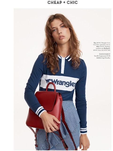 MD Management Modelagentur: Gigi R. / Shop till you drop Magazine