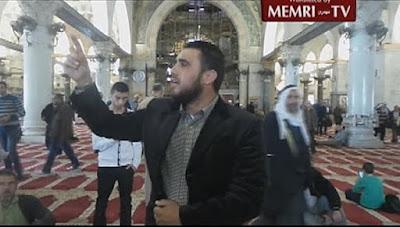 A pesar de que Israel ha tomado medidas contra la incitación musulma en el Monte del Templo - encarcelando a un número de clérigos que incitan a la violencia y prohibiendo varios grupos islamistas violentos - parece que la predicación antisemita aún continúa en la mezquita de Al Aqsa.