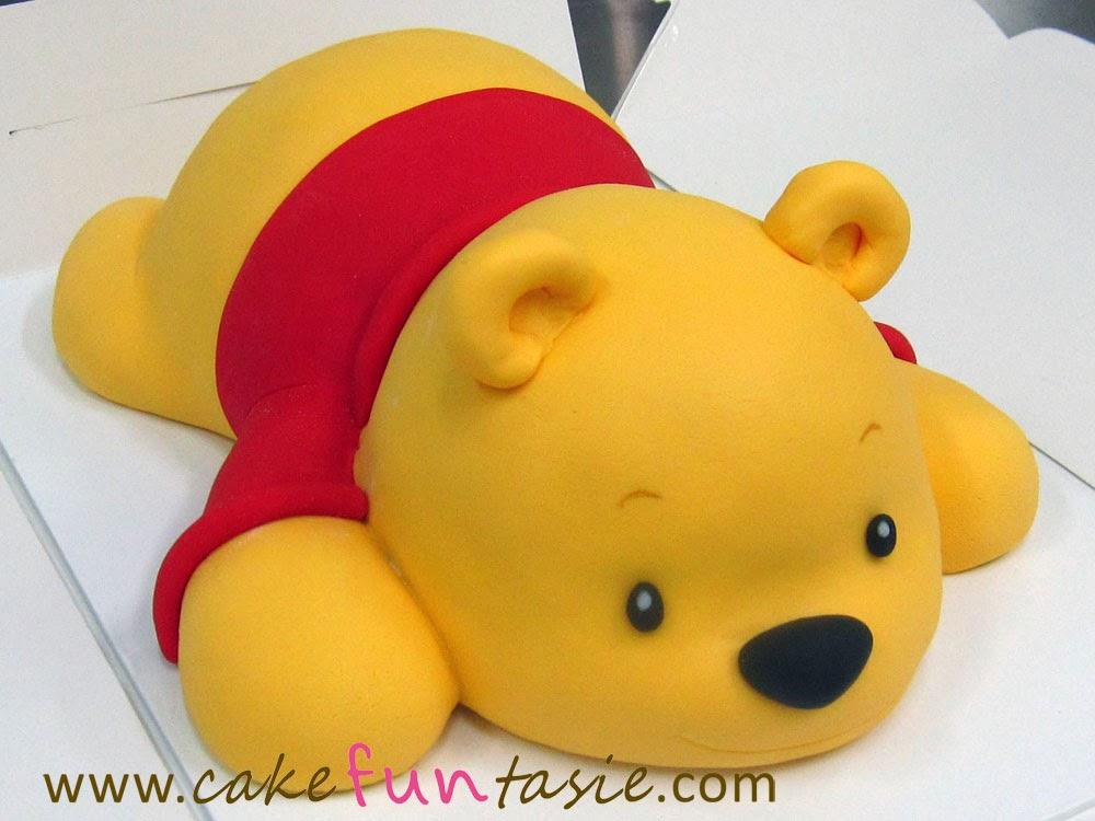 D Winnie The Pooh Birthday Cake
