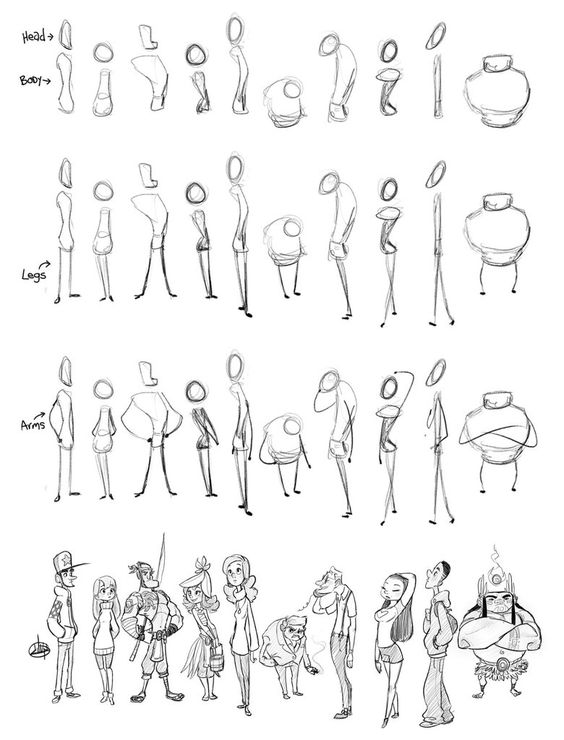 DART 110 F- Character Design I with instructor Philip