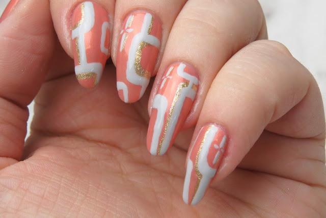 Essie Winter 2016 collection nail polishes Mod Nail Art Design Rita Remark Inspiration