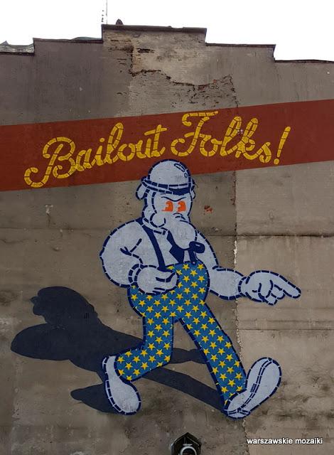 warszawskie murale graffiti