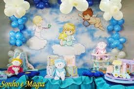 Festa com tema Anjo