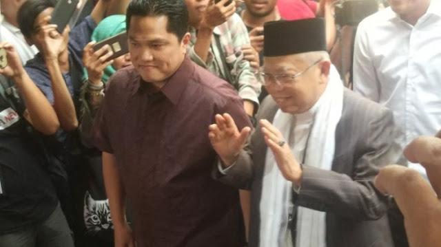 Anak Buah SBY Anggap Erick Thohir Sudah Memfitnah Kyai Ma'ruf Amin