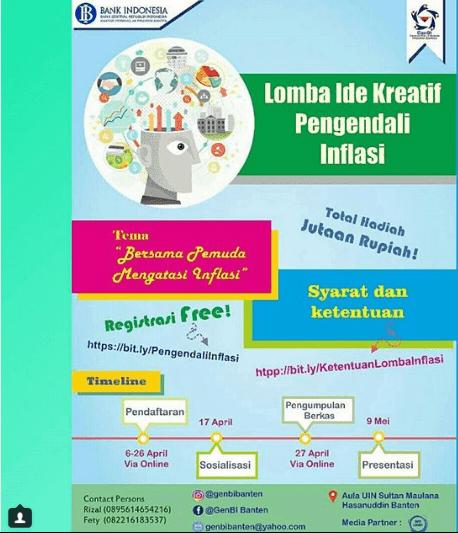 Lomba Ide Kreatif GenBI Banten 2018