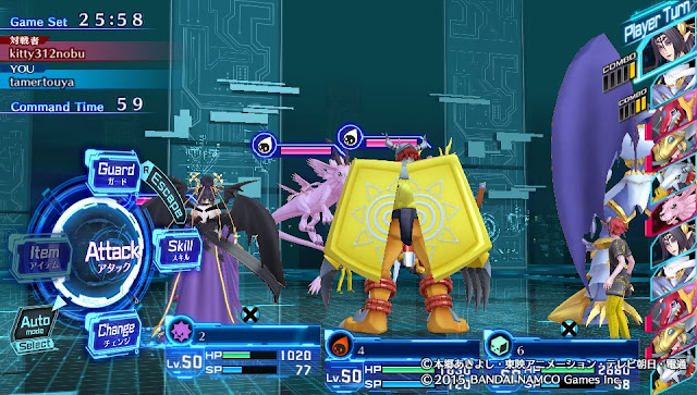 Digimon Cyber Sleuth Team Building