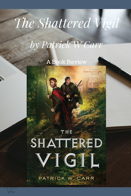 The Shattered Vigil by Patrick W Carr a book review on Reading List