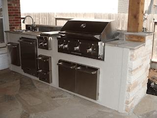 Custom Outdoor Kitchen DFW 6