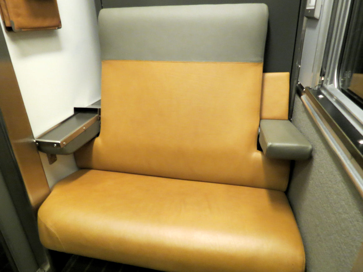 Sofa Sleeper For Cabin The Brick Calgary Sofas Destination Mike Via Rail Plus Class One