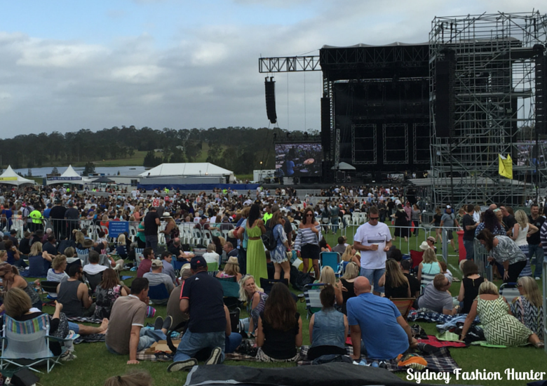 Cold Chisel Concert Crowd