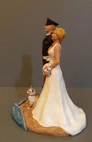 statuette per torta nuziale fatte a mano sculture matrimonio somiglianti orme magiche