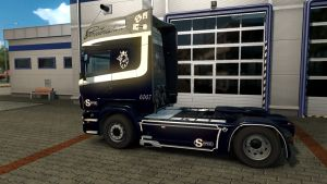 Road Ghost Skin for Scania RJL