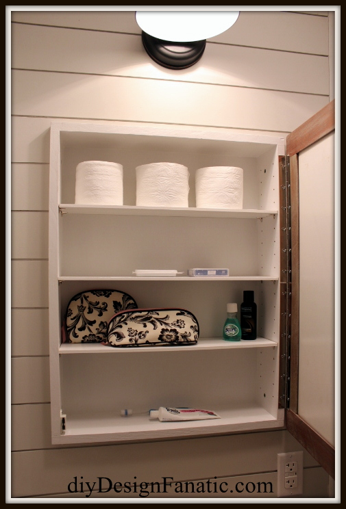 Pottery Barn inspired,  building project, medicine cabinet, rustic, farmhouse style, farmhouse, cottage, cottage style, diy