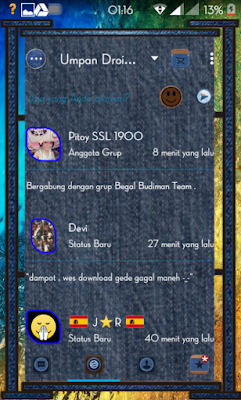 Droid Chat! v5.7.27 Blue Jeans Themes Based 2.9.0.49 (BBM Backup Sticker RR)
