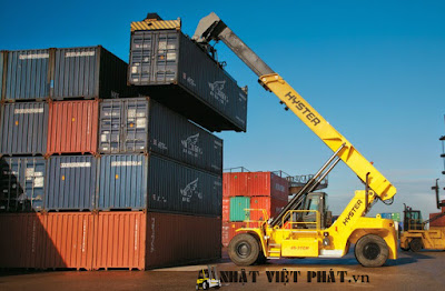 Xe gắp Container Hyster
