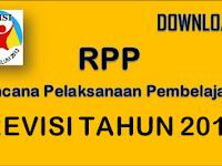 Download RPP Kurikulum 2013 / Revisi Tahun 2017