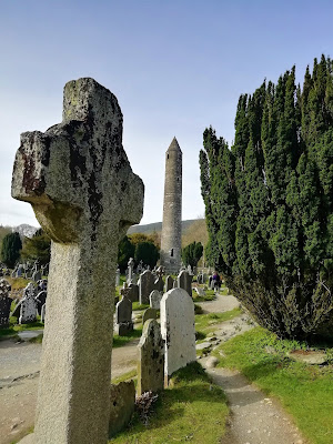 Glendalough, Wicklow, Ireland, Monastic Site.