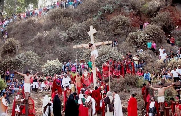 Jesús en los cielos, Metepec