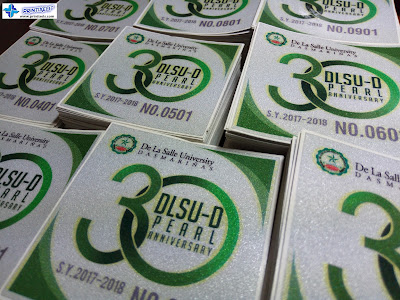Die-Cut Vehicle Stickers - 3M Reflective - La Salle Dasma