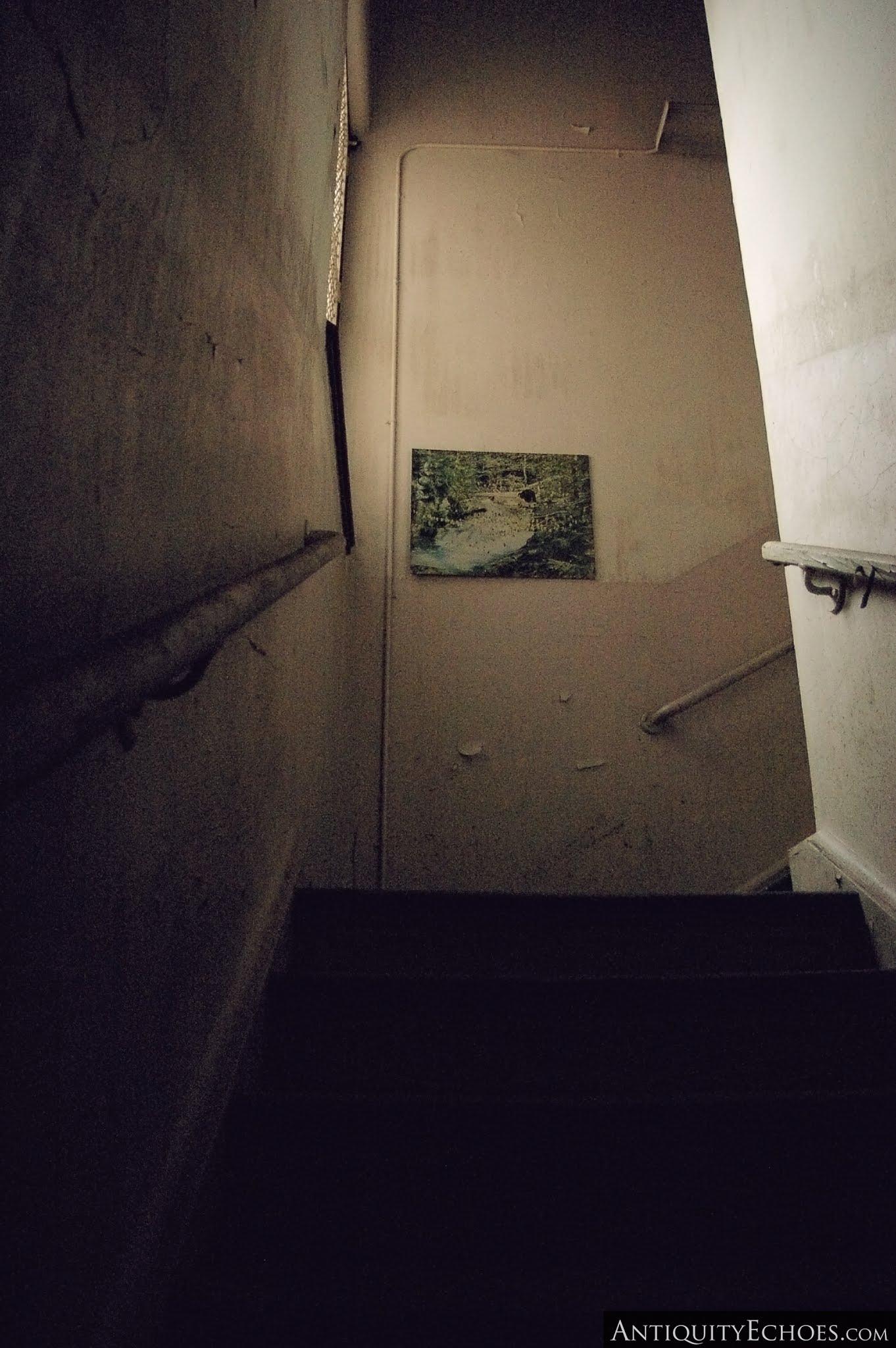 Overbrook Asylum - Stairs from Basement