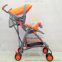 Pliko PK107N Techno Buggy Baby Stroller