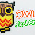 Video : Owl Pixel Crat (Perler Beads)